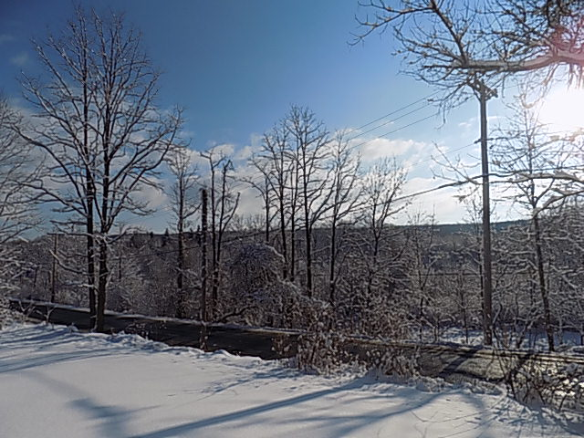 Snow in the Hudson Valley